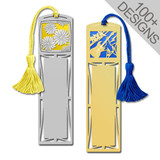 Large Personalized Bookmarks with Tassels