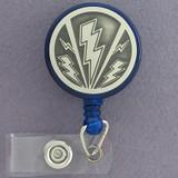 Lightning Bolt Badge Holders