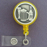 Beer Bottles ID Badge Holders