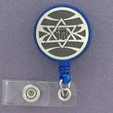 Jewish Star ID Badge Holders
