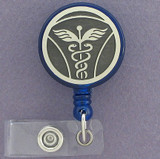 Doctor Caduceus ID Badge Holder Reel