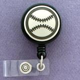 Baseball Retractable ID Name Badge Holders
