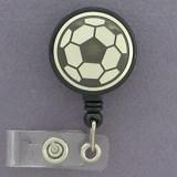 Soccer Balls ID Badge Holders