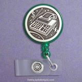 Accountant Retractable ID Badge Holder