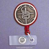 Sword Retractable ID Badge Holder