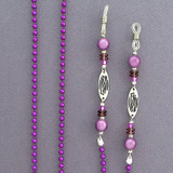 Ribbons Aluminum Glasses Holder Chains
