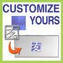 Customize a Checkbook Cover