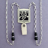 Dream Chinese Symbol Badge Necklace or Eyeglasses Holder