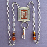 Mission Style Beaded Necklace Lanyards or Glasses Holders