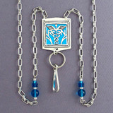 Nursing Badge Holder Necklace or Eyeglasses Chain
