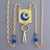 Islamic Star & Crescent Beaded Lanyards or Glasses Holders