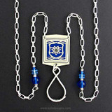 Police Badge Necklace or Eyeglass Holder Chain