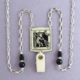 Kokopelli Badge Holder Necklaces or Glasses Chains