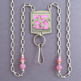 Flamingo Beaded Lanyard or Glasses Holder Necklace