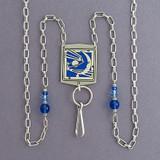 Celestial Beaded Necklace Holder or Eyeglasses Chain