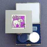 Elephant Contact Lens Case