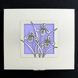Iris Flowers Contact Cases