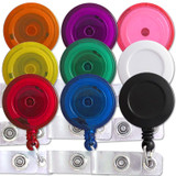 Color Retractable Name Badge Holder Reels