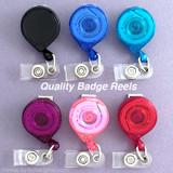 USA Quality Mini Bak Retractable ID Name Badge Holder Reels