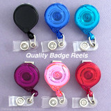USA Quality Mini Bak Retractable ID Name Badge Holder Reels