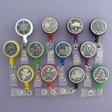 Twelve Piece Seasonal ID Badge Holder Set