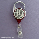 Checkmate Chess Badge Holders with Retractable Card Straps