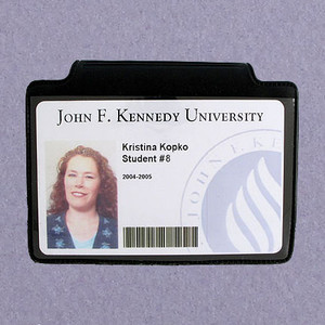 Horizontal Magnetic ID Badge Holders