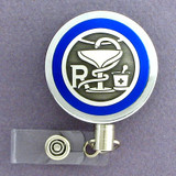 Pharmacy Name Badge Holder Reel