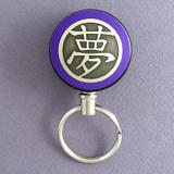 Purple Dream Symbol Retractable Key Reel