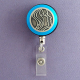 Blue Dermatologist Badge Reel
