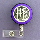 Purple Hope Badge Reel