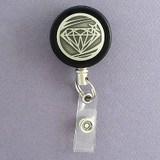 Diamond Badge Reel for Jeweler