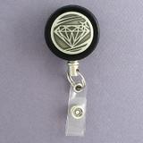 Diamond Badge Reel for Jeweler