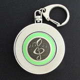 Music Note Collapsible Cup for Key Chains or Belt