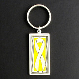 Yellow Ribbon Key Chain