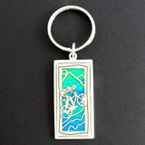 Mountain Biker Key Chains