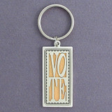 Vote Stamp Key Chains