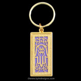 Hamsa Amulet Keychain