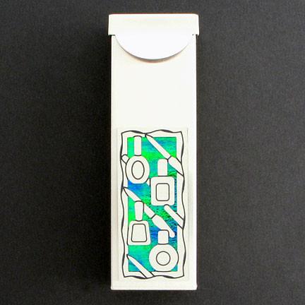 Manicurist chewing gum cases or travel toothpick holders - Travel toothpick holder ...