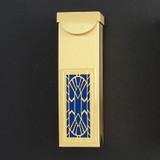 Art Deco Fan Toothpick Holder Case