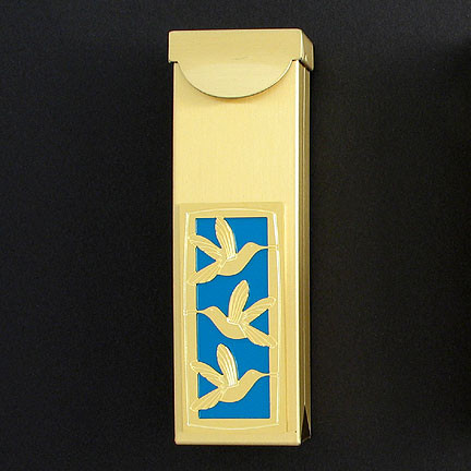 Hummingbird chewing gum case or travel toothpick holder - Travel toothpick holder ...