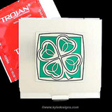 4-Leaf Clover Condom Holders