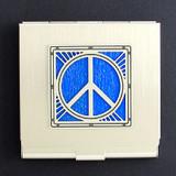 Peace Sign Condom Case