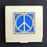 Peace Sign Condom Case