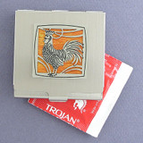 Rooster Condom Case