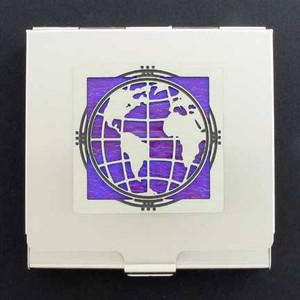 Globe Condom Holder Case