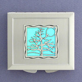 Tree Makeup Mirror Compact
