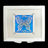 Butterfly Makeup Compact Mirror