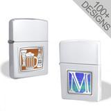 Chrome Cigarette Lighter in 100s of Unique Designs