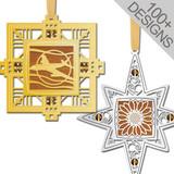 Custom November Birthstone Ornaments